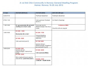 CCN General Meeting Program